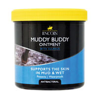 Lincoln MUDDY BUDDY Antibacterial Ointment + Sulphur Protects & Waterproofs 500g