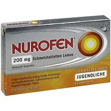 NUROFEN 200 mg Comprimés orodispersibles citron 12 pièces PZN 2547582