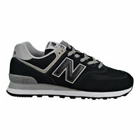 New Balance 574 Classic Men's Shoes Black-Grey ML574-EGK SIZE 10