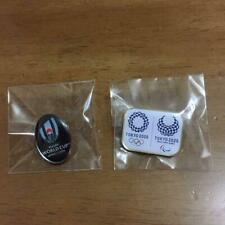 Rugby World Cup 2019 Tokyo Olympics 2020 Pin Badge Set