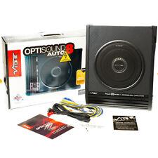 """Vibe Optisound 8 8"""" Activo Subwoofer Amplificado De Bajo Caja Inc UNDERSEAT Kit de cableado"""