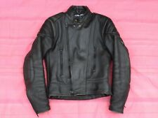 "Frank Thomas Cowhide Leather Jacket- 36"" Chest"