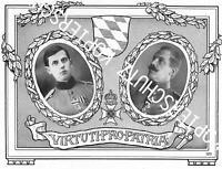 Heinrich Ritter von Musbach & Hans Ritter von Hemmer - Bayern - Adel - um 1916