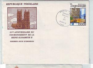 Togo 1280A FDC 1978 KRÖNUNG QUEEN ELIZABETH CORONATION
