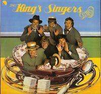 THE KING'S SINGERS swing EMC 3157 uk emi stereo 1976 LP PS EX/EX