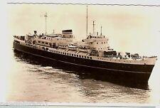 SHIPPING POSTCARD - MS KONINGIN EMMA / PRINSES BEATRIX