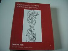 IMPRESSIONIST MODERN ART SOTHEBY'S 19 FEBRUARY 1997.NYC
