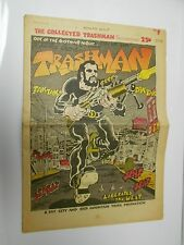 1969 The Collected TRASHMAN Spain Rodriguez Underground Comic Newspaper FN+ 6.5