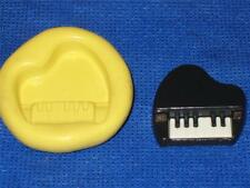 Piano Silicone Push Mold Polymer Clay Resin Miniature Cake Plaster #987 Mould