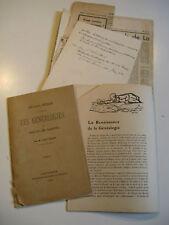 ABBE TACHY METHODE GENEALOGIE 1894 Ex-Libris PORTUGAL
