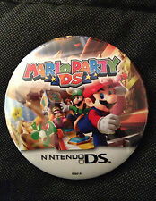 Nintendo DS Mario Party Promo Button Pin Badge Rare