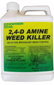 Amine 2,4-D Weed Killer Herbicide - 32 oz.