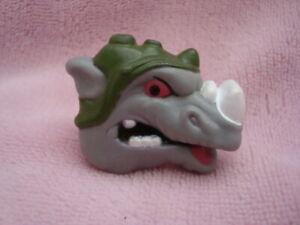 1990 TMNT Ninja Turtles Rhino Rocksteady Plastic Ring Nabisco Cereal Promo