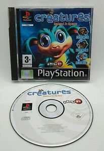 Creatures: Raised in Space Video Game for Sony PlayStation PS1 PAL TESTED
