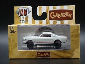 2021 M2 MACHINES 1966 FORD MUSTANG GASSER AUTO MEETS R57 21-17 1:64