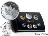 Canada 2019 Canadian Circulation Collection Pure Silver Coloured 6-Coin Set