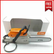 Stihl Chainsaw KeyRing Keychain Battery Operated Mini Keyring with Saw Sound