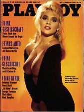 PLAYBOY D 2/1991 Februar – Tatjana Simic, George Foreman, Chet Atkins