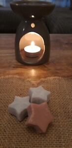 Homemade Heart and Star Soy Wax Melts