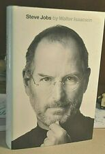 Steve Jobs biography SIGNED by author Walter Isaacson 2011