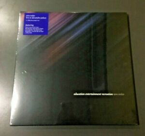 New Order - Education Entertainment Recreation: Live At Alexandra Palace Box Set