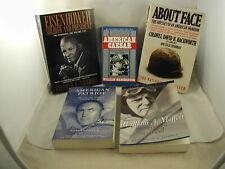 5 Biography American Military Figures MacArthur Eisenhower Moffett Hackworth Day
