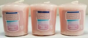 Yankee Candle - PINK SANDS SCENT VOTIVES - Pack of 3 EACH 1.75oz - 49gram