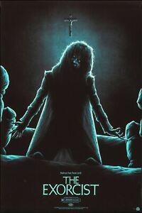 "THE EXORCIST 1974 poster rare 40x27"" horror nasty Linda Blair FREE P&P NASTY"