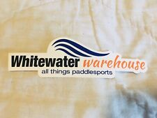 Nos Whitewater Warehouse Sticker! Dayton Ohio! Kayaking! Paddleboarding! Rare!