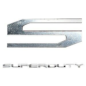 """Recon For Ford F 250 / F 350 / F 450 / F 550 """"Super Duty"""" Lettering Kit 264381CH"""