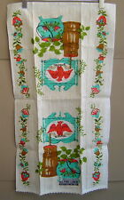 New listing Nwt Vintage Parisian Prints Tea Towel Country Kitchen Pure Linen 29 x 16