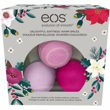 eos 2016 Limited Edition Holiday Lip Balm Sphere collection 3-Pack