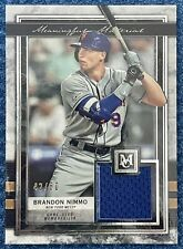 2020 Museum Collection Brandon Nimmo Meaningful Material Relic 42/50