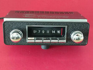 AM FM Stereo Radio Jaguar XKE E-Type Series 1 2 USB Bluetooth Classic Look/Style