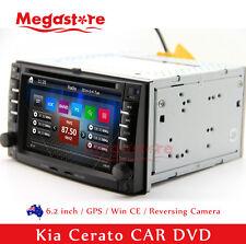 "6.2"" Car DVD Nav GPS Head Unit Stereo Radio For Kia Cerato 2003-2009"