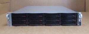 "Supermicro SuperChassis CSE-826 2 Eight-Core XEON E5-2660 48GB 2U 12x3.5"" Server"