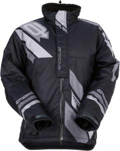 New Men's Arctiva Comp Jacket ~ Black~ L ~ # 3120-1575