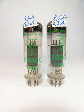 pair NOS E90CC RT pinched waist D-foil getter delta same code matched with U61