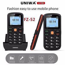Uniwa Nuovo di Zecca V708 Big Button telefono cellulare SOS-facile da usare-Anziani-Regalo