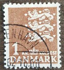 Denmark - Nr 297 - 1946 - Coat of arms - 1 dkr.