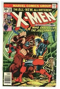 X-Men 102 Marvel Comics 1976 Juggernaut Cockrum Claremont Origin Storm! (j#3944)
