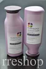 PUREOLOGY HYDRATE SHEER SHAMPOO & CONDITIONER 8.4 oz Each