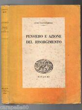 PENSIERO E AZIONE DEL RISORGIMENTO di Luigi Salvatorelli 1943