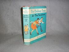 The Bobbsey Twins At The Seashore by Laura Lee Hope w/Dust Jacket 1930s Edition