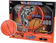 Mini Basket Canestro + Tabellone In Metallo Professionale + Palla Gioco dfh