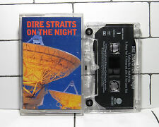Dire Straits - On The Night - Cassette Tape - Album - Tested
