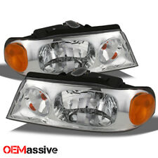Fits 98-02 Lincoln Navigator Replacement Clear Headlights Headlamps Left + Right