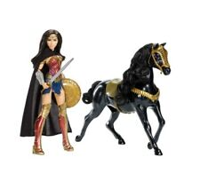"Wonder Woman 12"" Fashion Doll & Horse includes Cape & Shield - New"