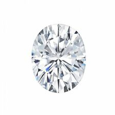 1.50CT Oval Cut Charles & Colvard Moissanite Loose Stone G-H-I Color 8x6MM
