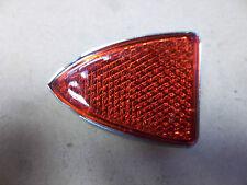 LUCAS TYPE RED REAR TAIL LIGHT REFLECTOR BSA A65 B25 TRIUMPH 99-1030 19-0943